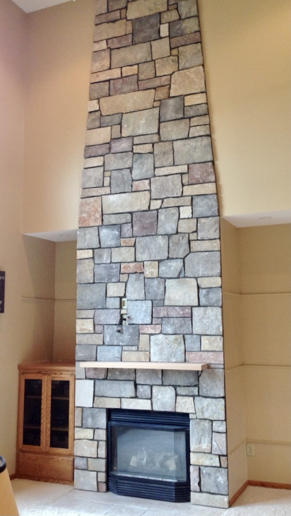 sherman masonry fireplaces